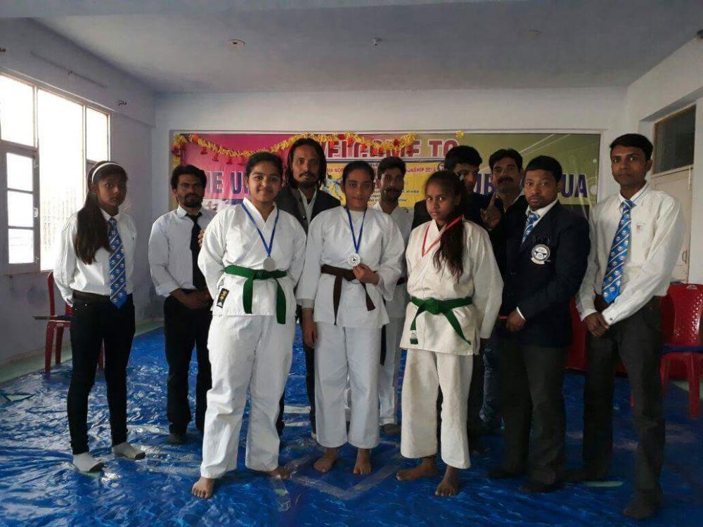Eighth North Indian Karate championship 2018, held at Kali Bari Distt Kathua.