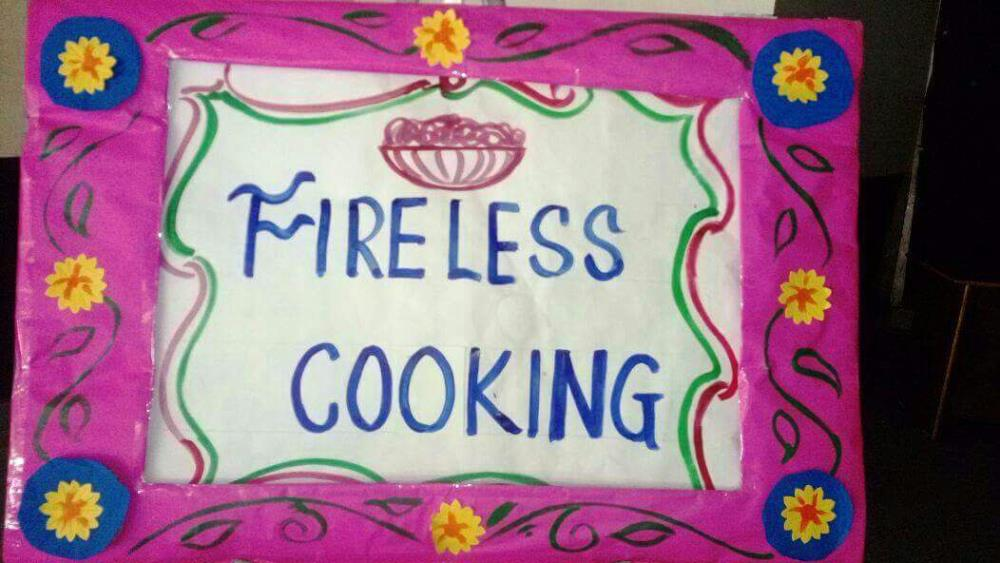Fire less cooking