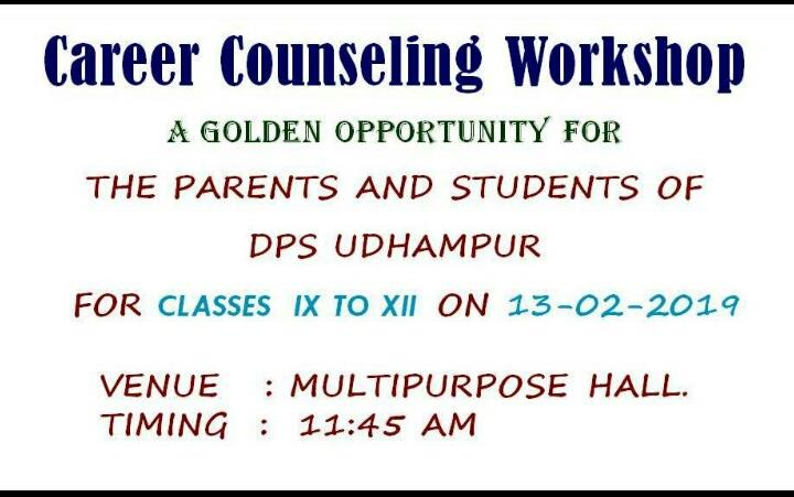 Career Counseling Workshop